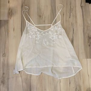 Abercrombie and Fitch white top - XS